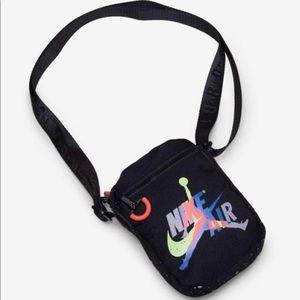 🤑2/$30🤑Black/Gray/Multi Neon Jordan Festival Bag